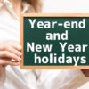 Shunshunkidsclinic Year-end and New Year holidays